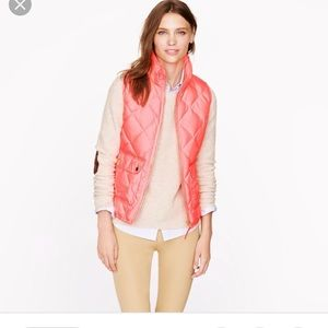 J crew excursion quilted down puffer vest